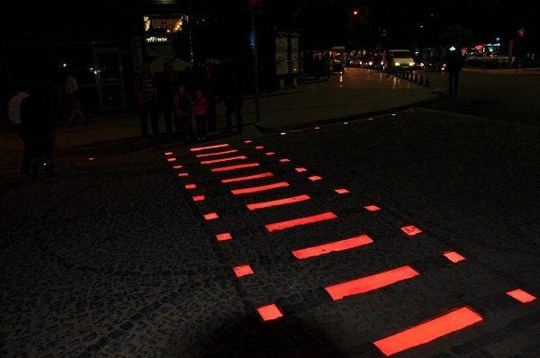 светодиодная плитка применение