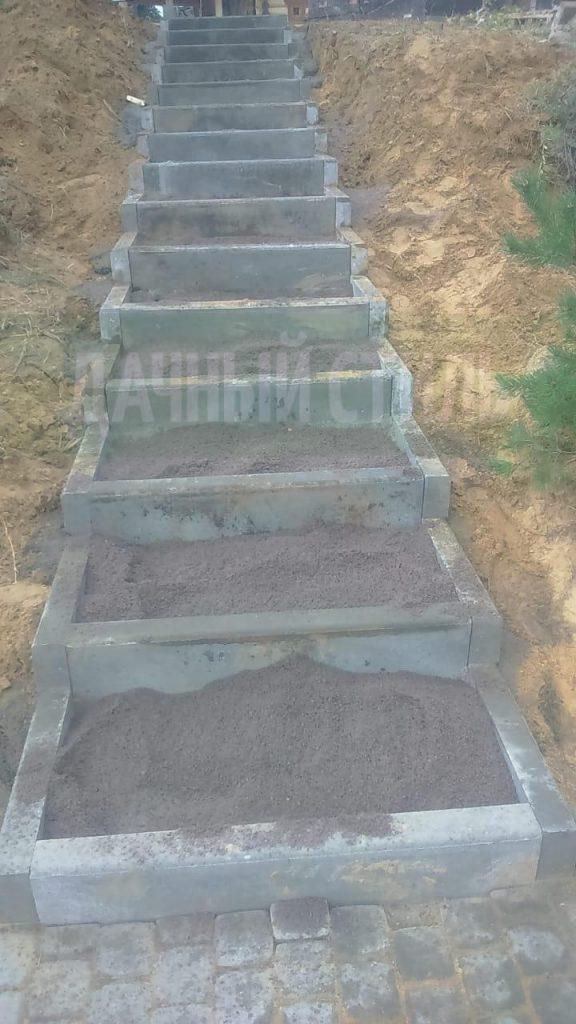 мощение ступеней из плитки грузино фото 2