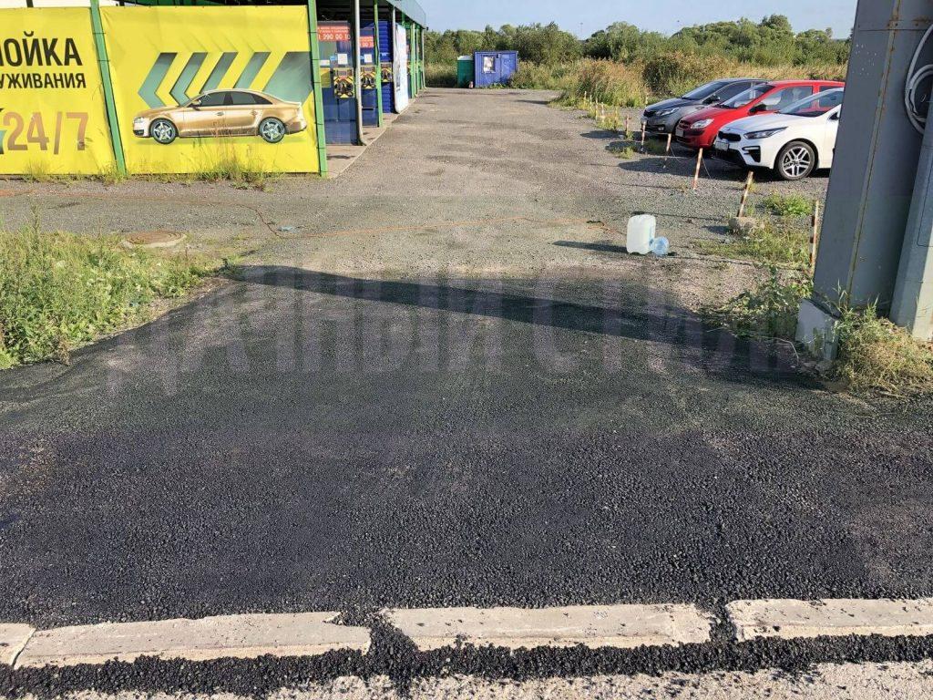 укладка асфальта таллинское шоссе фото 5