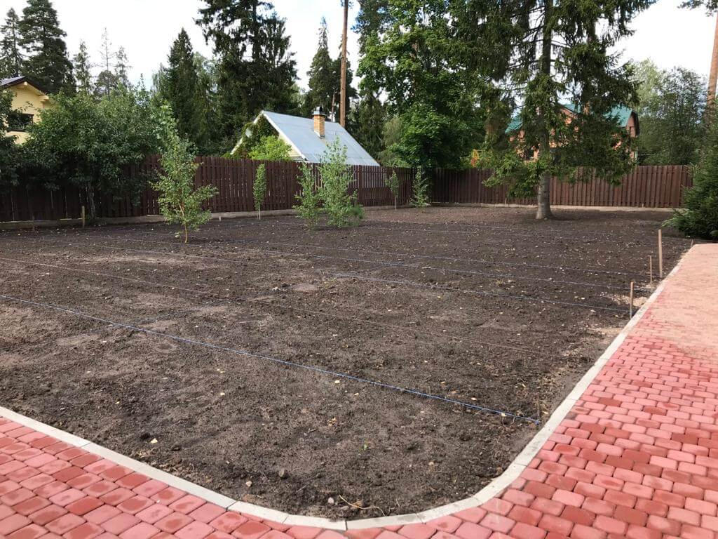 Посев газона (п. Сиверский) icon