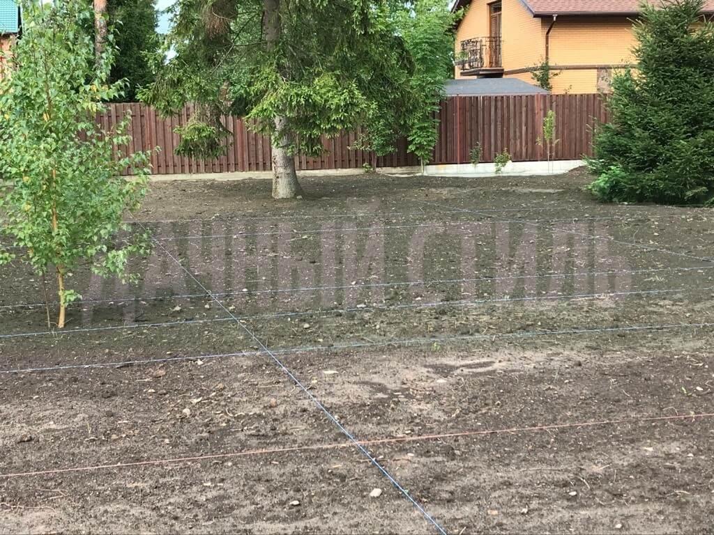 укладка посевного газона сиверский фото 8