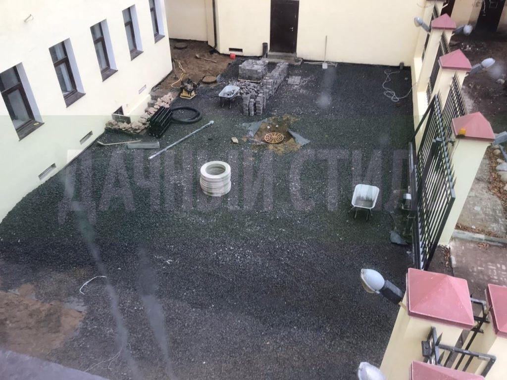 демонтаж асфальтового покрытия набережная фонтанки фото 1