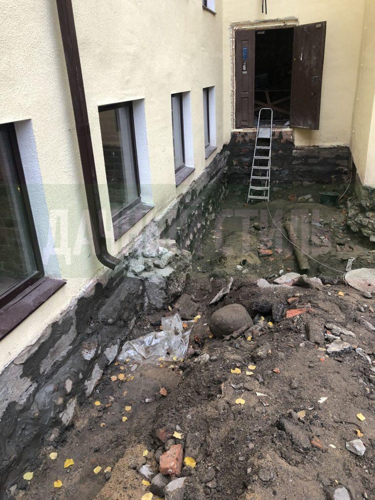 демонтаж асфальтового покрытия набережная фонтанки фото 4