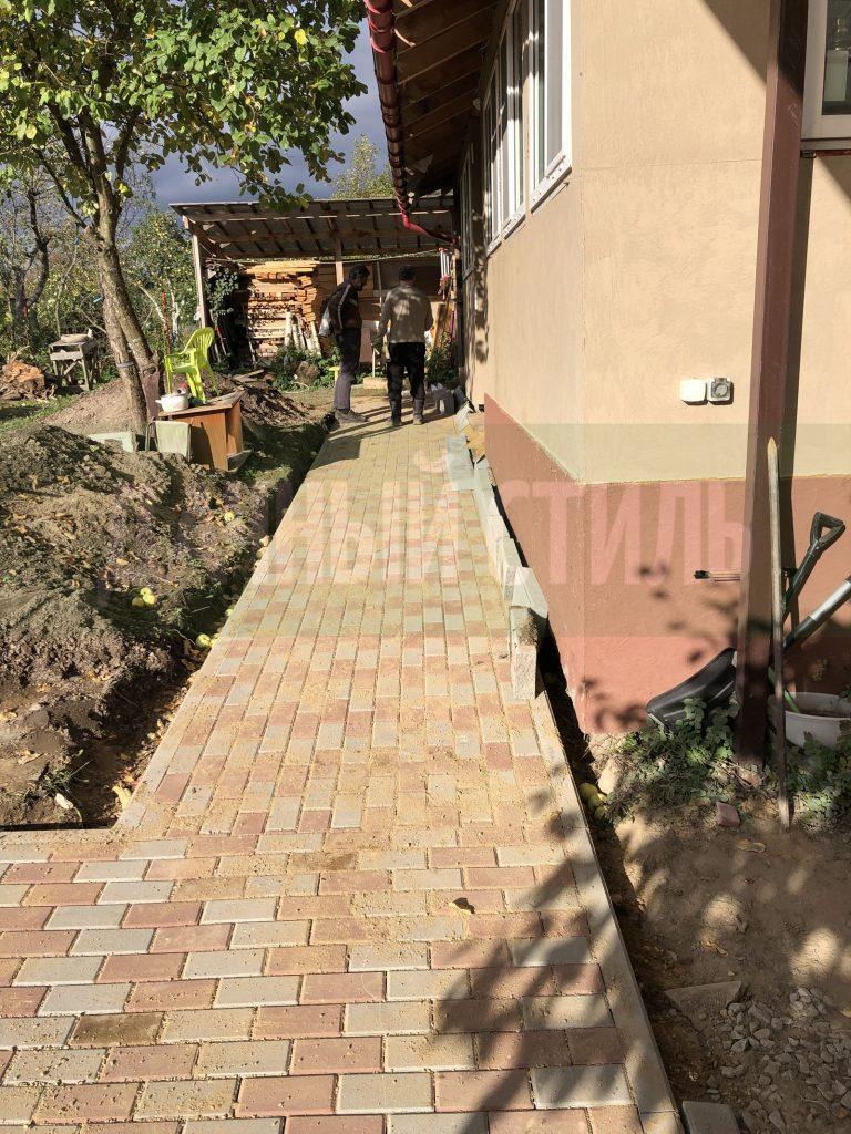 Укладка тротуарной плитки Конная Лахта фото 5