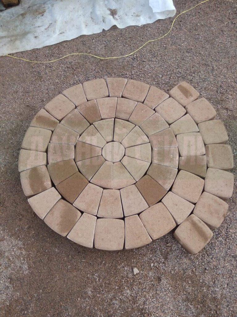 мощение плиткой пески фото 1