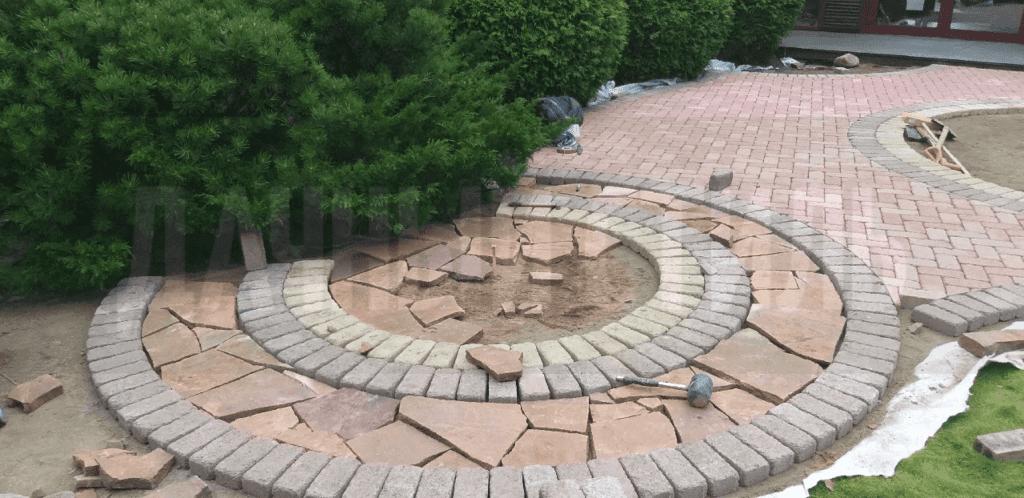 Репино укладка плитки и камня Итог
