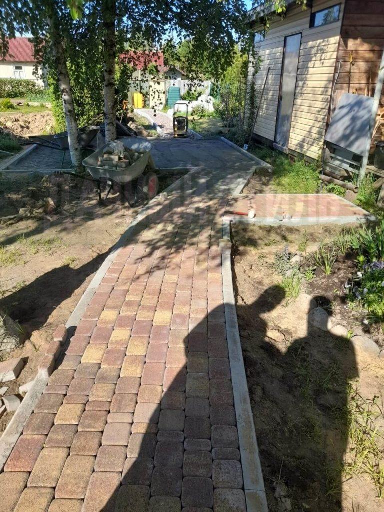 Верхние Осельки Укладка плитки фото 11
